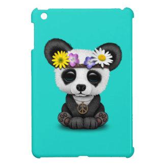 Cute Baby Panda Hippie Cover For The iPad Mini