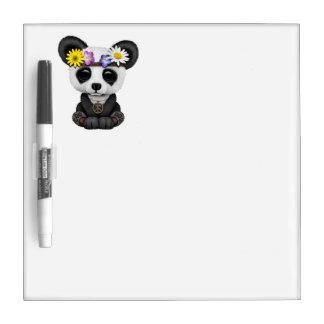 Cute Baby Panda Hippie Dry Erase Board