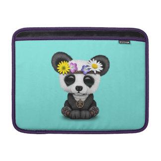 Cute Baby Panda Hippie MacBook Sleeve