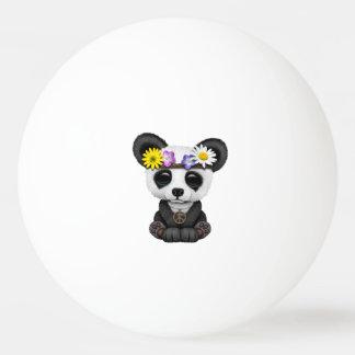 Cute Baby Panda Hippie Ping Pong Ball
