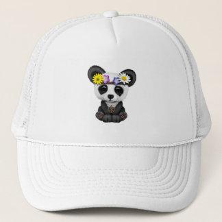 Cute Baby Panda Hippie Trucker Hat