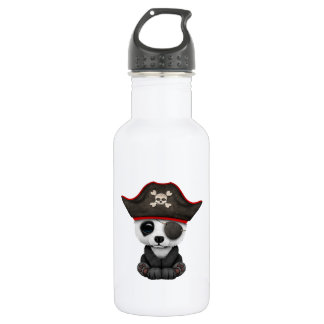 Cute Baby Panda Pirate 532 Ml Water Bottle