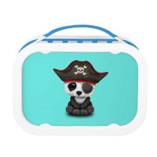 Cute Baby Panda Pirate Lunch Box