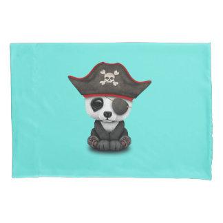 Cute Baby Panda Pirate Pillowcase