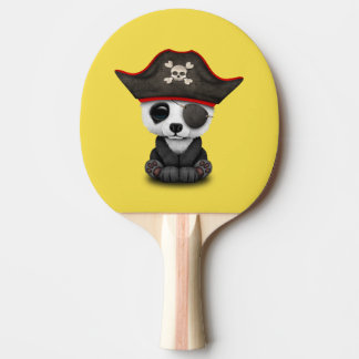 Cute Baby Panda Pirate Ping Pong Paddle