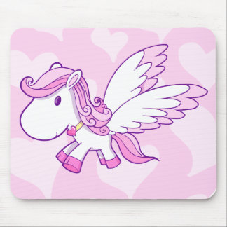 Cute Baby Pegasus  Mouse  Pad Mouse Pad