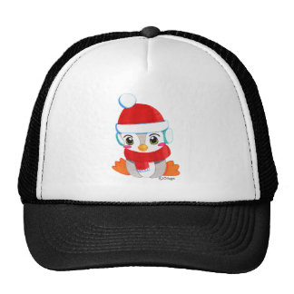 Cute baby penguin cap