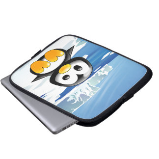 Cute Baby Penguin Computer Sleeves