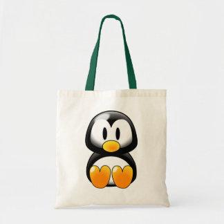 Cute Baby Penguin - Customizeable Canvas Bag