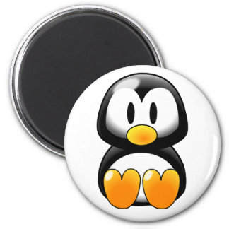Cute Baby Penguin - Customizeable Refrigerator Magnets