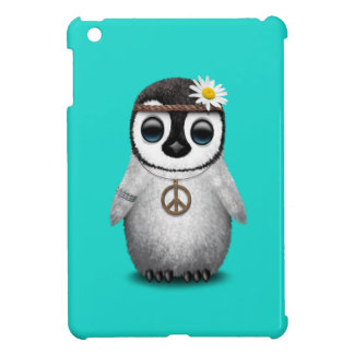 Cute Baby Penguin Hippie Cover For The iPad Mini