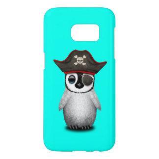 Cute Baby Penguin Pirate