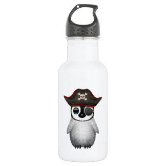 Cute Baby Penguin Pirate 532 Ml Water Bottle
