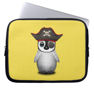 Cute Baby Penguin Pirate Computer Sleeves