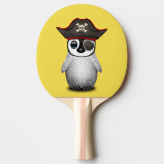 Cute Baby Penguin Pirate Ping Pong Paddle