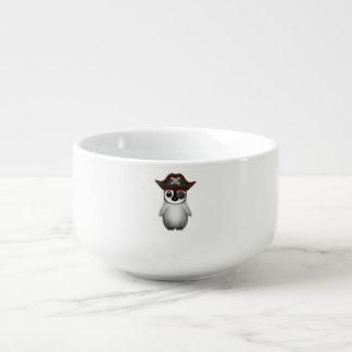 Cute Baby Penguin Pirate Soup Mug