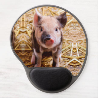 Cute Baby Piglet Farm Animals Babies Gel Mouse Pad
