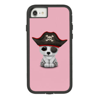 Cute Baby Polar Bear Pirate Case-Mate Tough Extreme iPhone 8/7 Case