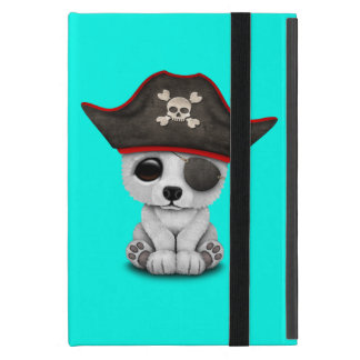 Cute Baby Polar Bear Pirate Cover For iPad Mini