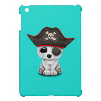 Cute Baby Polar Bear Pirate Cover For The iPad Mini