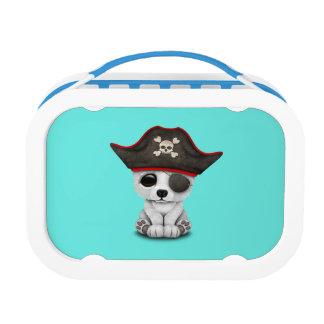Cute Baby Polar Bear Pirate Lunch Box