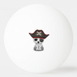 Cute Baby Polar Bear Pirate Ping Pong Ball