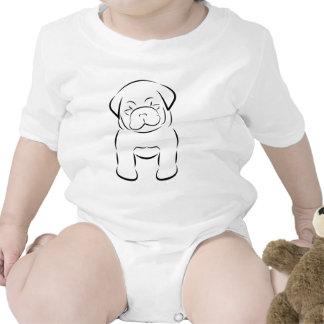 Cute Baby Pug Creeper