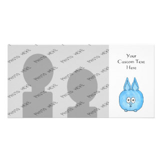 Cute Baby Rabbit. Personalised Photo Card