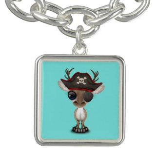 Cute Baby Reindeer Pirate