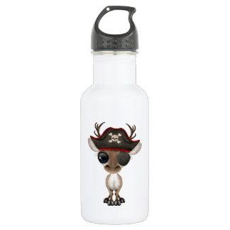 Cute Baby Reindeer Pirate 532 Ml Water Bottle
