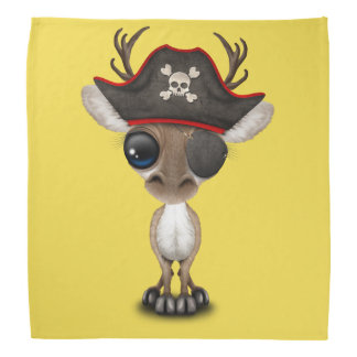 Cute Baby Reindeer Pirate Bandana