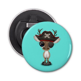 Cute Baby Reindeer Pirate Bottle Opener