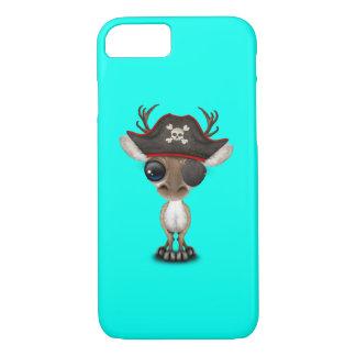 Cute Baby Reindeer Pirate iPhone 8/7 Case