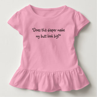 Cute Baby Saying on Ruffle Top by Julie Everhart