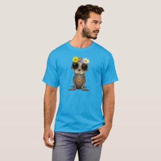 Cute Baby Sea Lion Hippie T-Shirt