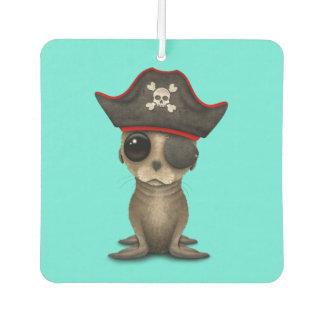 Cute Baby Sea lion Pirate Car Air Freshener
