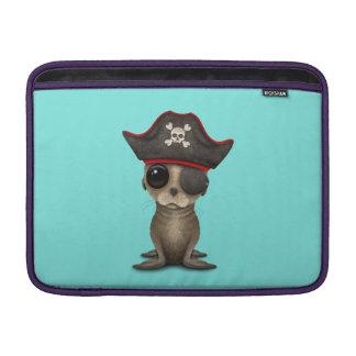 Cute Baby Sea lion Pirate MacBook Sleeve