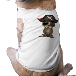 Cute Baby Sea lion Pirate Shirt
