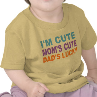 CUTE BABY SHIRT DAD S LUCKY TSHIRTS