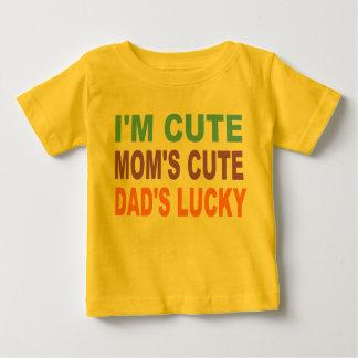 CUTE BABY SHIRT, DAD'S LUCKY TEE SHIRTS