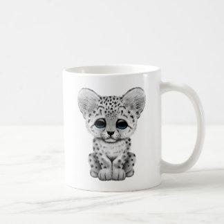 Cute Baby Snow Leopard Cub Coffee Mug