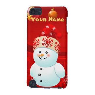 Cute Baby Snowman Customizable Cartoon iPod Touch 5G Cases