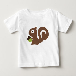 Cute Baby Squirrel Design Baby T-Shirt