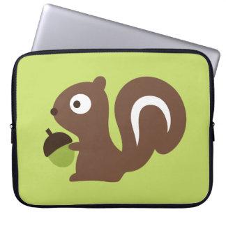 Cute Baby Squirrel Design Laptop Sleeve