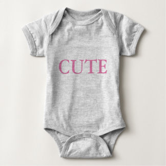 Cute baby stretch and grow baby bodysuit
