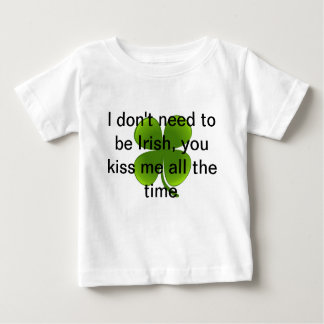 Cute baby tee for St. Patrick's day
