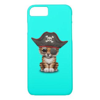 Cute Baby Tiger Cub Pirate iPhone 8/7 Case
