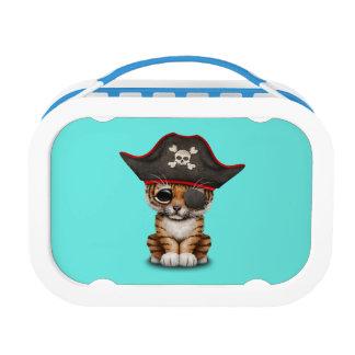 Cute Baby Tiger Cub Pirate Lunch Box