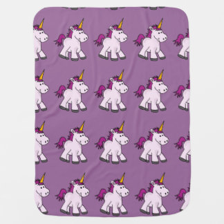 Cute Baby Unicorn Baby Blanket