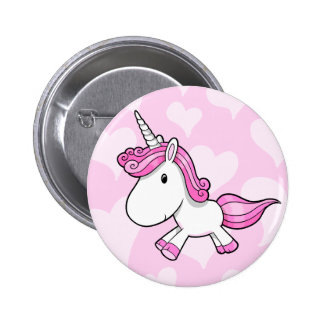 Cute Baby Unicorn  Button